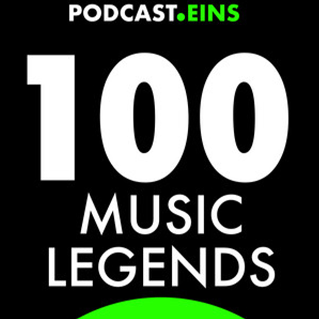 Cover 100 music legends Podcast Eins