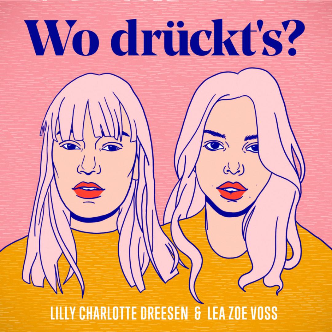 Cover Wo drückt´s Podcast Eins