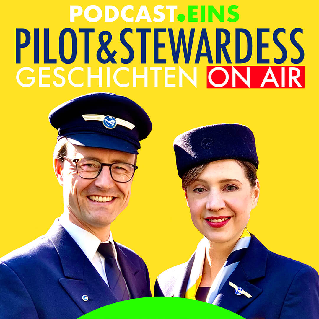 Cover Pilot und Stewardess Podcast