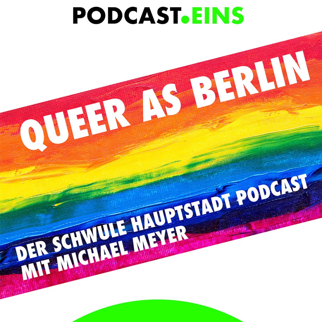 Cover Queer as Berlin Podcast Eins